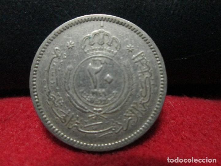 Monedas antiguas de Asia: 20 fils 1949 jordania AÑO ESCASO - Foto 2 - 126050779