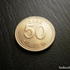 Monedas antiguas de Asia: COREA DEL SUR 50 WON 2002. Lote 126075903