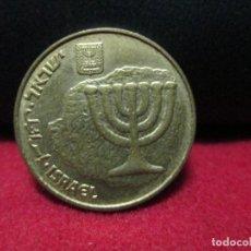 Monedas antiguas de Asia: 10 AGOROT ISRAEL. Lote 126786999