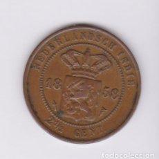 Monedas antiguas de Asia: MONEDAS EXTRANJERAS - NETHERLANDS EAST INDIES - 2 1/2 CENTS 1858 (CU) KM-308 (MBC). Lote 127617355