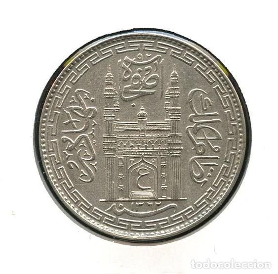 INDIA, HYDERABAD STATE, MONEDA DE PLATA, HAIDARABAD, RUPPE, 1361, 1365,  SILVER COIN