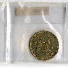 Monedas antiguas de Asia: MACAO 50 - 20 - 10 AVOS - 1993. Lote 131356982