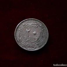 Monedas antiguas de Asia: 20 PARA 1914 (1327/5) TURQUIA. Lote 131423270