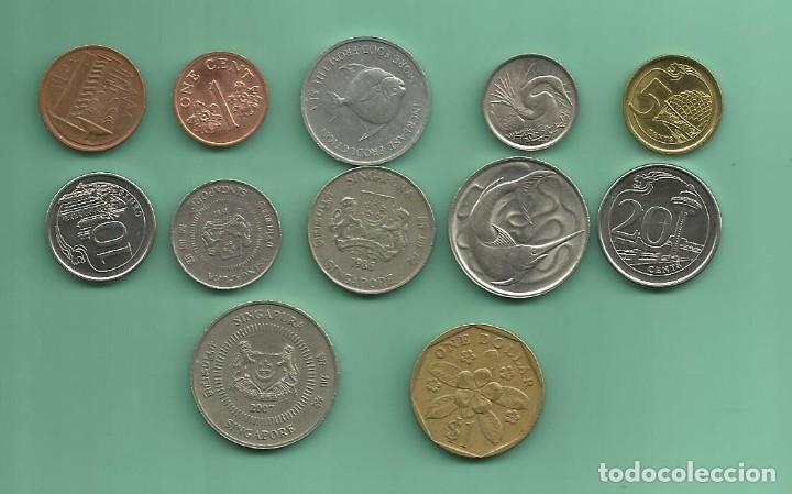 Singapur 12 Monedas De 12 Modelos Diferentes Comprar Monedas