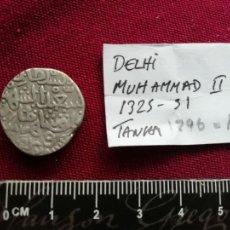 Monedas antiguas de Asia: INDIA. TANKA DE PLATA. DELHI. MUHAMMAD II 1296-1331. Lote 133757462