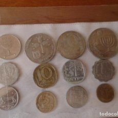 Monedas antiguas de Asia: LOTE DE MONEDAS DE ISRAEL. Lote 133774666