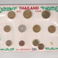 Monedas antiguas de Asia: COLECCIÓN DE 21 MONEDAS DE TAILANDIA (THAILAND) DISTINTOS VALORES, FECHAS Y CONSERVACIÓN. (ME1972). Lote 133960206