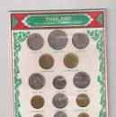 Monedas antiguas de Asia: COLECCIÓN DE 17 MONEDAS DE TAILANDIA (THAILAND) DISTINTOS VALORES, FECHAS Y CONSERVACIÓN. (ME1973). Lote 133962882