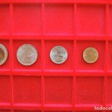 Monedas antiguas de Asia: LOTE 5 PIEZAS, SERIE 10 - 5 - 1- 0,5 - 0.25 BAHT, RAMA IX, TAILANDIA, 1994, SC. Lote 134085466