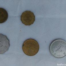 Monedas antiguas de Asia: LOTE MONEDAS HONG KONG. Lote 134304285