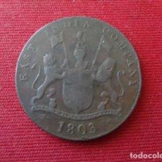 Monedas antiguas de Asia: EAST INDIA COMPANY. XX CASH. 1803. Lote 134848874