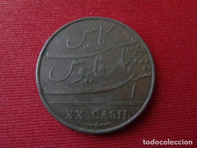 Monedas antiguas de Asia: EAST INDIA COMPANY. XX CASH. 1803 - Foto 2 - 134848874