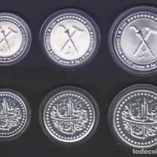 Monedas antiguas de Asia: BRUNEI - 1 - 2 - Y 3 DIRHAM - 2012 - SIN CIRCULAR - PLATA. Lote 134930578