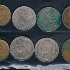 Monedas antiguas de Asia: MONEDAS DE HONG KONG COLONIA INGLESA, TAHILANDIA (2)?? Y PORTUGAL. Lote 135167362