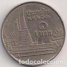 Monedas antiguas de Asia: TAILANDIA - 1 BATH 1997- 2540 - Y#227. Lote 135317110