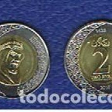 Monedas antiguas de Asia: ARABIA SAUDI / SAUDITA : 2 RIYALS 2016. SC.UNC .. Lote 136293846