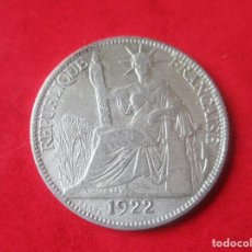 Monedas antiguas de Asia: INDOCHINA FRANCESA. MONEDA DE 20 CENTIMOS DE PLATA. 1922. Lote 136866358