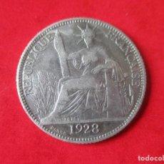 Monedas antiguas de Asia: INDOCHINA FRANCESA. MONEDA DE 20 CENTIMOS DE PLATA. 1928. Lote 136868202