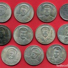 Monedas antiguas de Asia: LOTE DE 11 MONEDAS GRANDES DE CHINA , REPRODUCCIONES , FALSAS, NO SON PLATA , L1. Lote 138900838