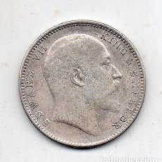 Monedas antiguas de Asia: INDIA. 1 RUPIA. AÑO 1907. PLATA.. Lote 142657710