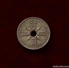 Moedas antigas da Ásia: 1 CHELIN 1945 PLATA NUEVA GUINEA. Lote 142724930