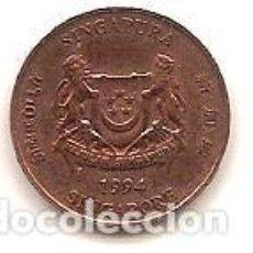 Monedas antiguas de Asia: SINGAPUR,1 CENTS 1994.. Lote 142809210
