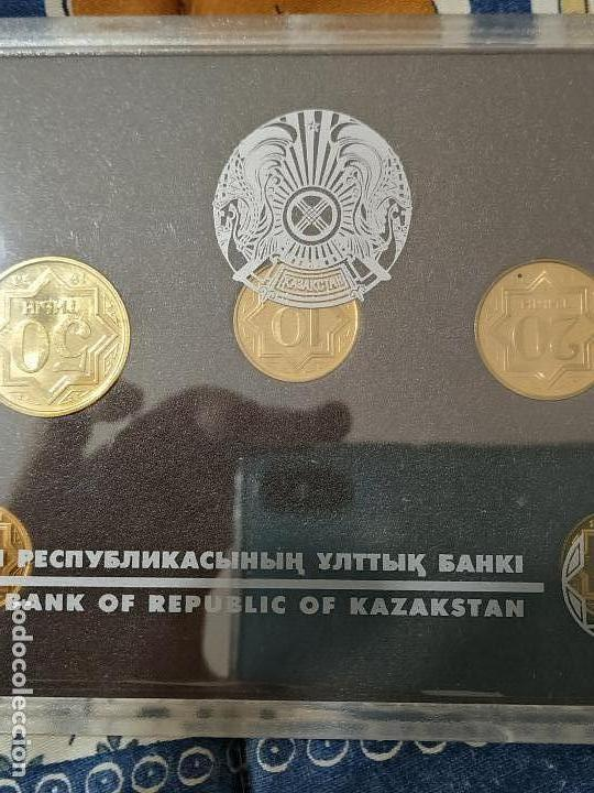 BLISTER KAZASTHAN 1993 (Numismática - Extranjeras - Asia)