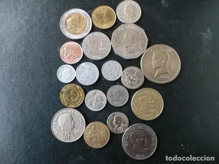 COLECCION DE MONEDAS DE FILIPINAS MUY VARIADAS (Numismática - Extranjeras - Asia)