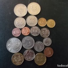 Monedas antiguas de Asia: COLECCION DE MONEDAS DE SINGAPOUR . Lote 144200626