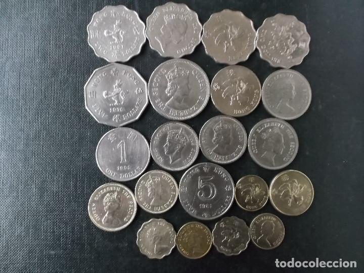 COLECCION DE MONEDAS DE HONG KONG (Numismática - Extranjeras - Asia)