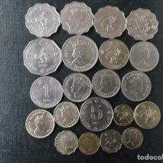 Monedas antiguas de Asia: COLECCION DE MONEDAS DE HONG KONG . Lote 144930646