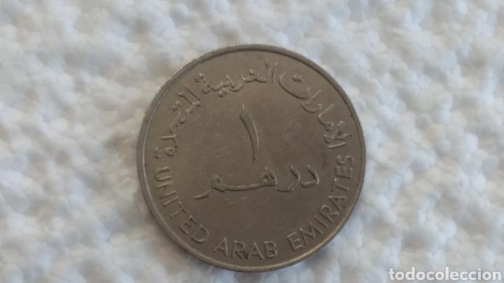 Monedas antiguas de Asia: EMIRATOS ÁRABES 1 DIRHAM 1973 - Foto 2 - 146576450