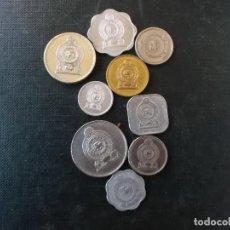 Monedas antiguas de Asia: CONJUNTO DE MONEDAS DE SRI LANKA Y ANTIGUA CEYLAN . Lote 146609858