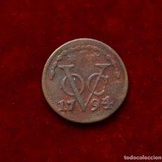 Monedas antiguas de Asia: DUIT 1794 INDIA HOLANDESA (ZEELAND). Lote 147828802