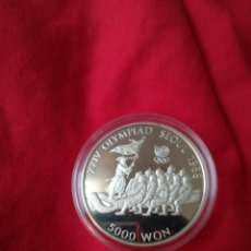 Monedas antiguas de Asia: 5000 WON SUR COREA 1986 JUEGOS OLIMPICOS EN SEUL. Lote 147886710