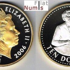 Monedas antiguas de Asia: ESTADOS DEL CARIBE ORIENTAL - 10 DOLARES - 2006 - PLATA. Lote 147895586