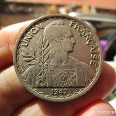 Monedas antiguas de Asia: INDOCHINA . 1 PIASTRA SIN CIRCULAR . Lote 148094738