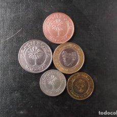 Monedas antiguas de Asia: CONJUNTO DE MONEDAS DE BAHRAIN. Lote 148129998
