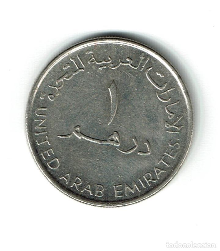 Monedas antiguas de Asia: EMIRATOS ARABES 1 DIRHAM 2007 - Foto 2 - 150010530