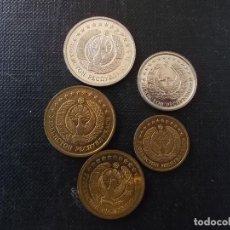 Monedas antiguas de Asia: CONJUNTO DE MONEDAS DE UZBEKISTAN. Lote 175734313