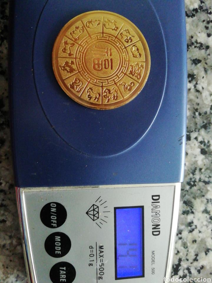 Monedas antiguas de Asia: Moneda horóscopo chino - Foto 3 - 154637580