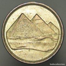 Monedas antiguas de Asia: 5 PIASTRAS EGIPTO - PRACTICAMENTE SIN CIRCULAR. Lote 156518818