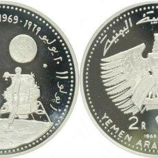 Monedas antiguas de Asia: YEMEN 2 RIALS 1969. Lote 158441826