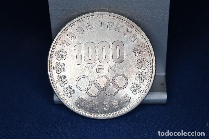 JAPÓN 1000 YENES, 39 (1964) XVIII JUEGOS OLÍMPICOS DE VERANO, TOKIO 1964 (Numismática - Extranjeras - Asia)