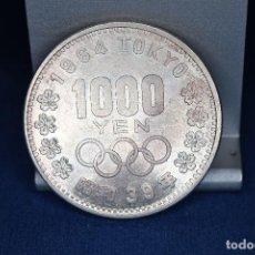 Monedas antiguas de Asia: JAPÓN 1000 YENES, 39 (1964) XVIII JUEGOS OLÍMPICOS DE VERANO, TOKIO 1964 PLATA. Lote 158471086