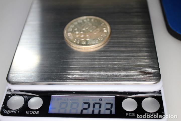 Monedas antiguas de Asia: Japón 1000 yenes, 39 (1964) XVIII Juegos Olímpicos de verano, Tokio 1964 - Foto 5 - 158471086