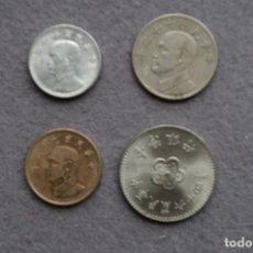 Monedas antiguas de Asia: TAIWAN LOTE DE 4 MONEDAS DIFERENTES L-3. Lote 158671058