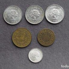 Monedas antiguas de Asia: TUNEZ LOTE DE 6 MONEDAS DIFERENTES L-13. Lote 158699818