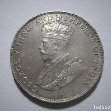 Monedas antiguas de Asia: SBA82 STRAITS SETTLEMENTS 50 CENTAVOS 1921 SC. Lote 159677586