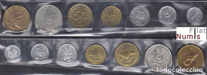 ISLAS MALDIVAS - SERIE COMPLETA - 2007/2012 - NO CIRCULADA (Numismática - Extranjeras - Asia)
